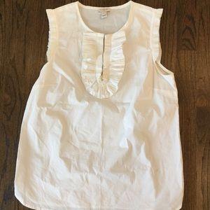 J.  Few Cotton Sleeveless White Top